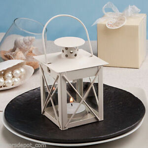 Fashioncraft -4149 Love Lights The Way Metal Luminous Lanterns (Ivory) Pack of 8