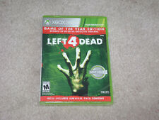 LEFT 4 DEAD GAME OF THE YEAR EDITION...XBOX 360...**SEALED***BRAND NEW***!!!!!!!