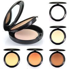Durable Poudre Compacte Maquillage Visage Fond De Teint Correcteur Eponge Powder