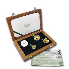 2007 South Africa 3-Coin Gold Natura Eland Proof Set - SKU #75990