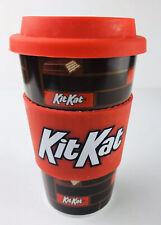 Hersheys KIT KAT Ceramic Advertising Travel Mug With Silicone Band