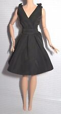 DRESS ONLY~ BARBIE DOLL ARTICULATED POSABLE SILKSTONE CLASSIC LITTLE BLACK DRESS
