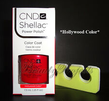 CND Shellac Hollywood Color UV Gel Polish .25oz New With Box +BONUS ITEM!