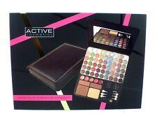 Cosmetics Glamour cara Folio 65 Active Maquillaje Compacto (Cara Labio Ojo) Conjunto de Regalo