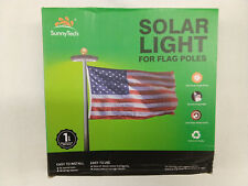 Sunnytech 2nd Generation Solar Flag Pole 20led Light , Brightest, Most Powerful,
