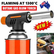 Butane Gas Blow Torch Camping Iron Welding Soldering Fire Lighter Frame Gun