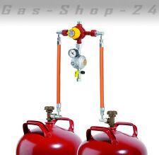 automatische Zweiflaschenanlage 2 Flaschenanlage 5-11 kg Gasregler Druckminderer