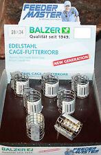 Balzer Method Feeder Korb FeederMaster Cage Klein Edelstahl Futterkorb 8982 ...