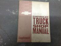 1965 Chevrolet Chevy TRUCK Service Shop Repair Manual SUPPLEMENT OEM BOOK GM