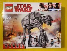 SHIPS TODAY! Lego Star Wars 75189 First Order Heavy Assault Walker