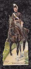 Victorian 1895 FORBES PAPER DOLL Boston Sunday Globe - Soldier on Horse xx