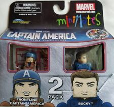 Marvel Mini Mates Captain America First Avenger Frontline Captain America & Buck