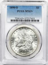 1890-O PCGS Morgan Silver Dollar MS-65+ ** Super PQ, 66 Wholesale Ask: $8120!