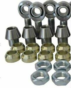 """2 Link Kit 3/4"""" x 3/4"""" RH & LH + tube Adaptors + Spacers + Half Nuts & 337 tube"""