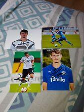 4x Signé Photos Janni Serra Vfl Bochum DFB Holstein Kiel Neuf