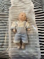 Vintage Used Kingstate The Doll Crafter Porcelain Doll (Minor Damage To Paint)
