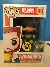 RARE! Marvel GITD Wolverine Unmasked Toytastik Exclusive #40