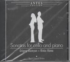 Sonatas for Cello and Piano CD NEU Grigory Alumyan Rinko Hama