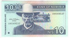 New ListingNamibia 10 Dollars 1993 P-1 Unc
