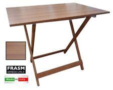 TAVOLO PIEGHEVOLE IN FORMICA CM.60X90 NOCE tavolo, formica, pieghevole, legno, p