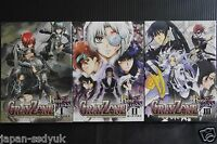 D.Gray-man Gray Zone Rose Cross 1~3 Complete Set Manga