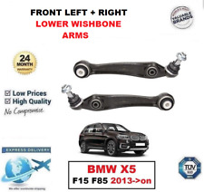 2x FRONT AXLE LEFT RIGHT LOWER SUSPENSION CONTROL ARMS for BMW X5 F15 F85 2013->