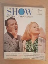 Show Magazine of the Arts August 1964 Fall TV Preview Henry James Virna Lisi