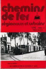CHEMINS de FER RÉGIONAUX et URBAINS - N° 179 (1983 - 5) (CFRU - FACS) (Train)