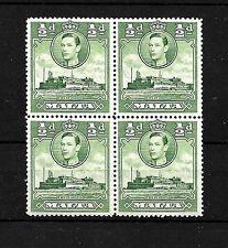 Colony Maltese Stamp Blocks (Pre-1964)