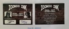 Tupac Shakur Notorious B.I.G Iconic Ink Autographed Trading Card, RARE~NM/MINT