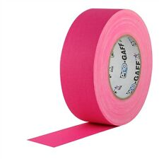 Pro Gaff Fluorescent Pink Gaffers Tape 2 inch x 50  yards