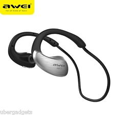 AWEI A885BL Waterproof Sports Bluetooth Headphone CSR4.1 Wireless Headset IPX4