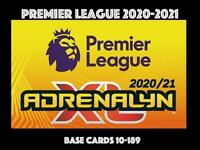PANINI PREMIER LEAGUE 2020-2021 20/21  ADRENALYN XL CHOOSE YOUR BASE CARD 10-189
