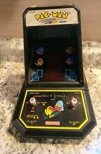 VINTAGE 1980'S COLECO PAC-MAN TABLETOP ARCADE GAME - WORKS