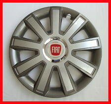 "4 x15"" Wheel trims fit Fiat Punto, Panda, Doblo, Multipla, Stilo, 500 - 15''"