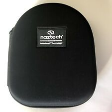 Naztech Noise Reducing Headphone Hardshell Case And Adapters