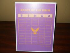 Bible Bingo Game Books of the Bible