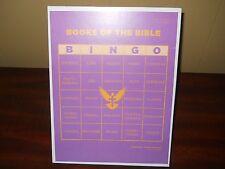 Bible Bingo Books of the Bible