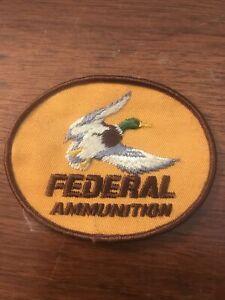 Federal Ammunition Patch Mallard Duck