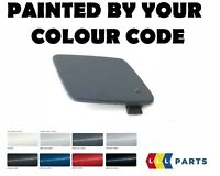 BMW NEW E90 E91 FRONT M SPORT TOW HOOK EYE COVER PAINTED BY YOUR COLOUR CODE