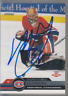 Autographed 01/02 Pacific Mathieu Garon - Canadiens