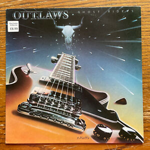 VINYL LP Outlaws Ghost Riders 1981 Arista Records SPART 1160 EX/EX