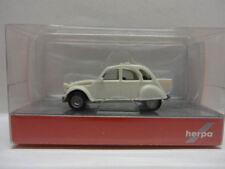 Herpa 027632-003 CITROEN 2 CV avec queue Perlweiss blanc 1:87 Nouveau