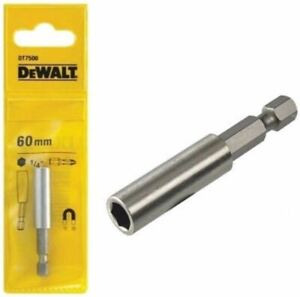 DEWALT MAGNETIC DRILL BIT HOLDER 60MM DT7500 DIY POWER TOOLS