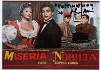 Miseria e Nobiltà Franco Melidoni Foto autografata Cinema Autografo Signed Photo