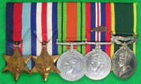 WW2 ROYAL SIGNALS TERRITORIAL MEDAL GROUP, M.I.D FOR FRANCE 1940, SGT DYSON