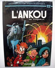 SPIROU - L'ANKOU - 1977 - DEDICACE + DESSIN FOURNIER