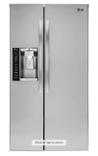 LG LSXC22426S Side-by-Side Smart Wi-Fi Stainless Refrigerator Counter Depth
