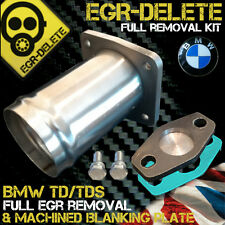 Bmw egr removal kit td tds E34 E36 E38 E39 318 325 525 725 plaque d'obturation bypass