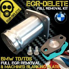 BMW EGR REMOVAL KIT td tds E34 E36 E38 E39 318 325 525 725 Blanking Plate Bypass